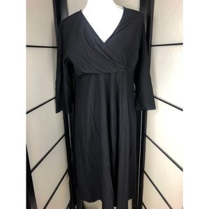 Eileen Fisher Black Dress Large